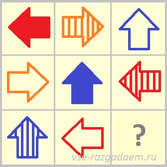 какой фигуры не хватает, логическая головоломка, логические головоломки с ответами, головоломка, головоломки, логические головоломки