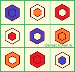 логическая головоломка с ответом, какой фигуры не хватает, логическая головоломка, логические головоломки с ответами, головоломка, головоломки, логические головоломки