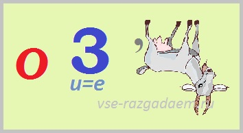 ребусы с цифрами, ребусы с цифрой, ребусы с цифрой 3, ребус с цифрой, ребус с цифрой 3