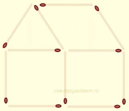 головоломки со спичками, головоломка со спичками, головоломки из спичек, головоломка из спичек, головоломки, головоломка